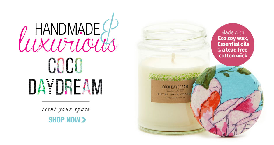 Coco Daydream pure soy candles