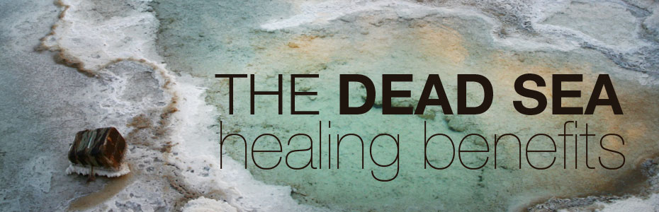The Dead Sea healing benefits