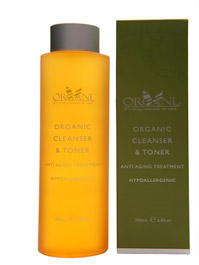 Organi Cleanser and Toner
