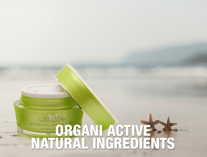 Organi Active Natural Ingredients
