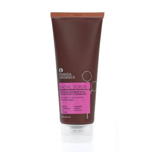 Pangea Organics Geranium & Cranberry Face Scrub