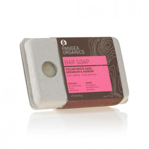 Pangea Organics, Italian Sage & Geranium Bar Soap
