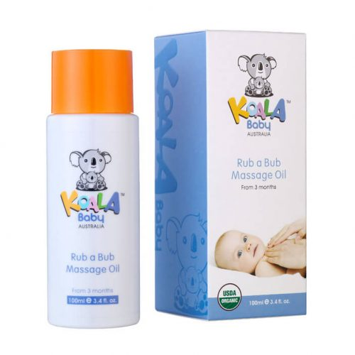 Koala Baby Rub a Bub Massage Oil