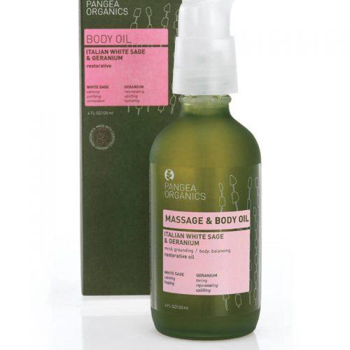 Pangea Organics Italian White Sage & Geranium Restorative Oil