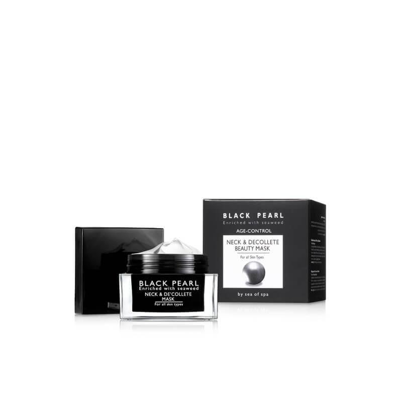 Black Pearl Age Control Neck & Décolleté Beauty Mask