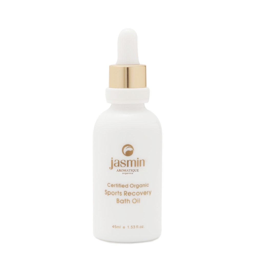 Jasmin Organics Sports Recovery Bath Oil - Daily Care Collection