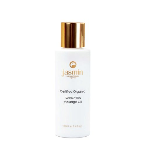 Jasmin Organics Relaxation Massage Oil - Daily Care Collection