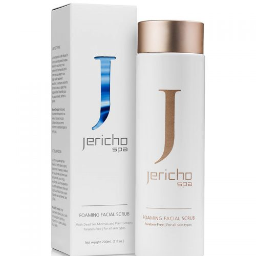 Jericho foaming facial scrub